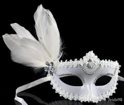 couples masquerade masks masquerade masks men and women children mask catwalk side feather