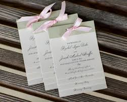 layered wedding programs wedding programs baltimore layered style programs kindly rsvp