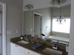 Large Bathroom Mirror Frames Extraordinary Ideas For Framing A Large Bathroom Mirror Photo
