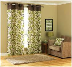 Green And Brown Curtains Green And Brown Curtains Semi Opaque Lime Green Brown