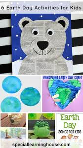 6 earth day activities for kids special learning house
