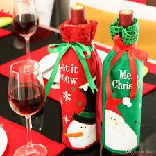 amour et intégrité de thanksgiving wine bottle bags burgundy
