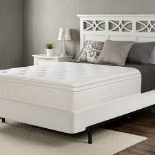 Spring Bed by Euro Box Top Spring 12 Inch Icoil Mattress Zinus