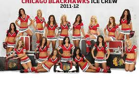chicago blackhawks cheerleader nhl hockey rg free desktop