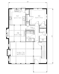 traditional style house plan 4 beds 2 00 baths 1900 sq ft plan