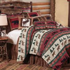 Cabin Bedroom Furniture Sets by Rustic Bedding U0026 Cabin Bedding Black Forest Decor