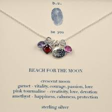 moon necklace images Reach for the moon necklace bu jewelry garnet pink tourmaline jpg