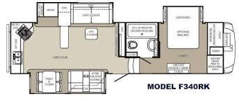 5th Wheel Camper Floor Plans New 2015 Palomino Columbus 340rk Fifth Wheel At Fun Town Rv