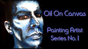 oil on canvas painting artist series no 1 last minute