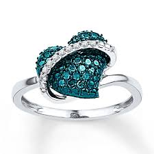 Blue Wedding Rings by Wedding Rings With Blue Diamonds