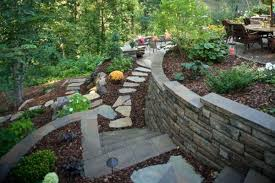 Retaining Wall Stairs Design Retaining Wall Stairs Design Ebizby Design