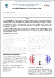 Basic Home Hvac Design Ijri Te 03 013 Modeling And Thermal Analysis Of Air Conditioner Evapo U2026