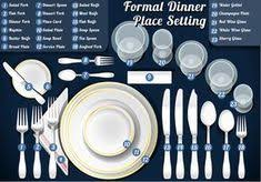 how to set a table with silverware correct table setting with silverware and glassware life tips