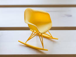 buy the vitra miniature 1950 eames rar rocking chair utility