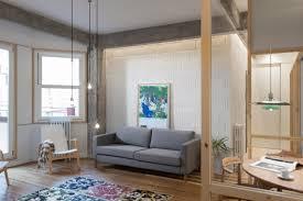 architecture studio designs broken plan apartment in bilbao
