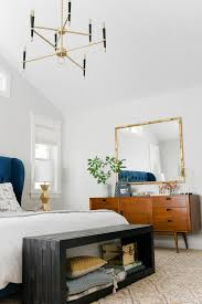Chandelier In Master Bedroom The Curbly Bedroom Makeover Emily Henderson