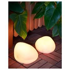 flower pot solar light outdoor decorative lighting ikea australia