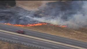 Wildfire Yukon by Crews Battle Wildfire Near Deer Creek News9 Com Oklahoma City