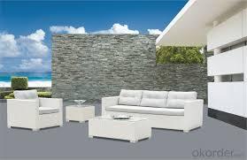 White Rattan Sofa Buy White Rattan Garden Sofa Pe Rattan With Aluminum Frame Cmax