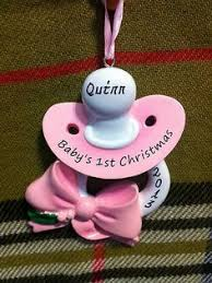 Baby S First Christmas Bauble M S by Babys First Christmas Ornament Modge Podge A Block Cute