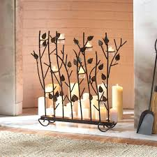 candle holders for fireplace hearth insert large uk ideas