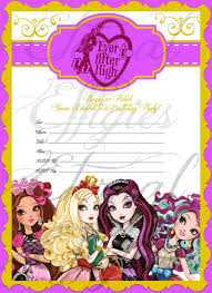 46 best ever after images on pinterest ever after high birthday
