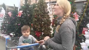 2015 walmart christmas tree shopping youtube