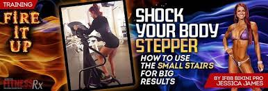 shock your body stepper fitnessrx for women
