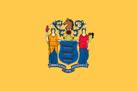 Orange Flag Meaning New Jersey Flag State Flag Of New Jersey