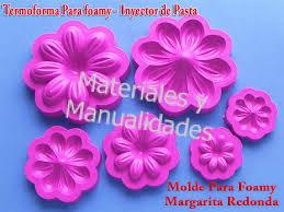 flores de foamy moldes para foamy flores margarita redonda floristería troquel