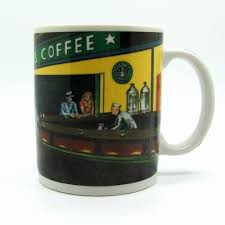 starbucks famous painting and artist coffee mugs