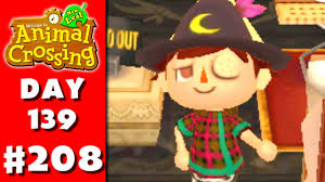 animal crossing new leaf part 208 witch hat nintendo 3ds