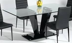 rectangle glass dining room table rectangular glass top dining table brilliant rectangle glass dining