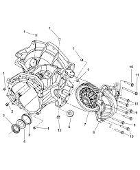 case transaxle u0026 differential for 2004 chrysler sebring sedan