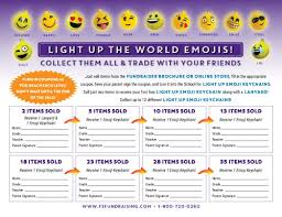 Light Up The World Light Up The World Emojis Full Service Fundraising