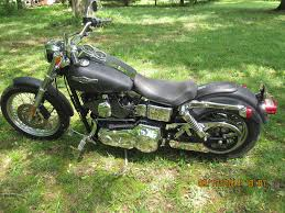2001 harley davidson fxdl dyna low rider custom flat black