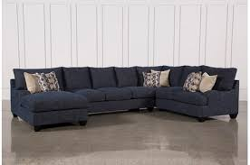 blue sectional sofa with chaise blue sectionals sectional sofas free assembly with delivery