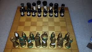 Ceramic Chess Set Chess Collectables