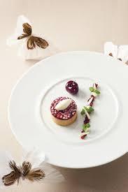 recette cuisine gastronomique foie gras des landes confit cerises et amandes fraîches thuriès