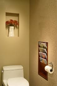 Bathroom Wall Magazine Rack Ojmr Architects Inc Recessed Magazine Rack Bathrooms Decor