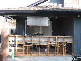 interior chraming outdoor kitchen design with modern stainless