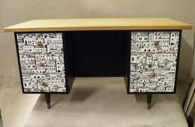 office desk vintage tanker desk oak desk vintage style furniture