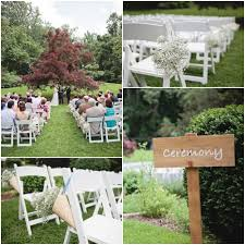 a summer garden wedding rustic wedding chic