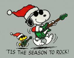 snoopy christmas shirts tis the season to rock christmas snoopy peanuts