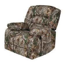 relaxzen green rocker recliner with heat massage usb realtree