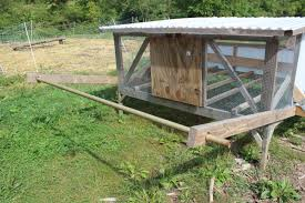 finally a mobile chicken coop one person can easily move