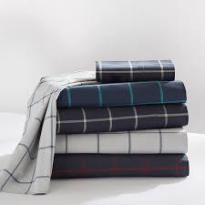 Twin Plaid Bedding by Boxter Plaid Sheet Set Pbteen