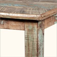 Distressed Wood Dining Room Table Distressed Kitchen Tables Gallery With Wood Pictures Endearing