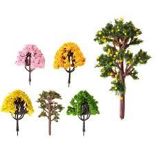 lovely 1pc diy potted miniature tree plants garden