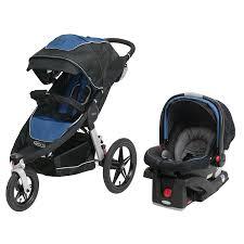 amazon com graco relay click connect jogging stroller travel